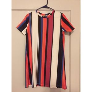 Zara Striped Shift Dress